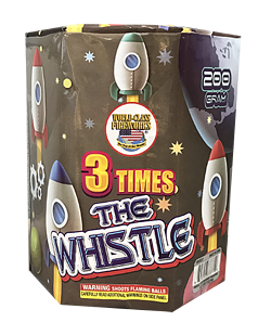 3 TIMES THE WHISTLE