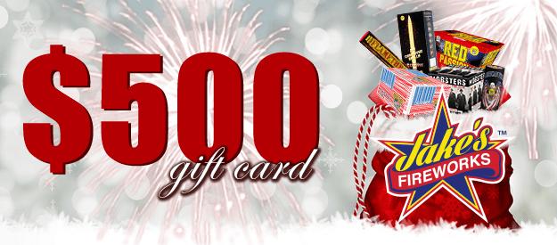 fireworks gift card Georgia