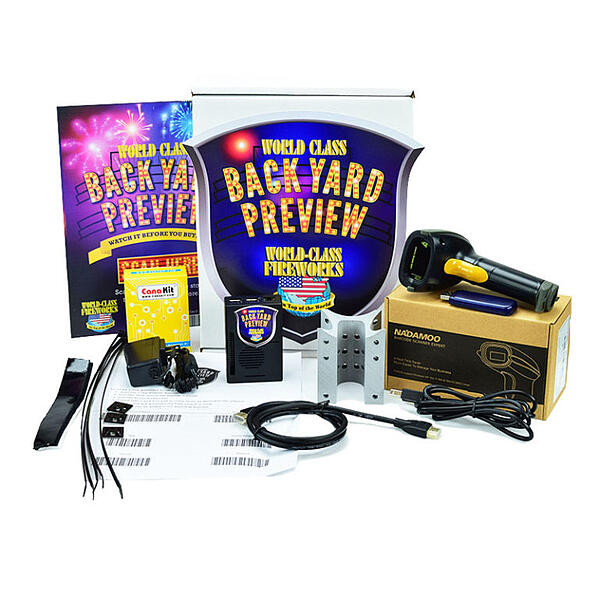 back yard preview fireworks video system