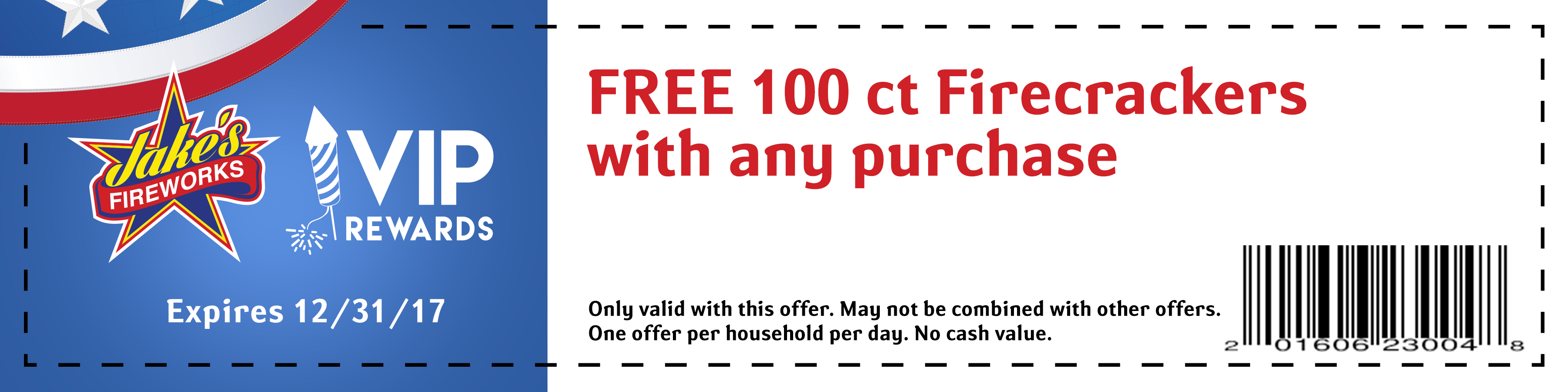 free firecrackers coupon