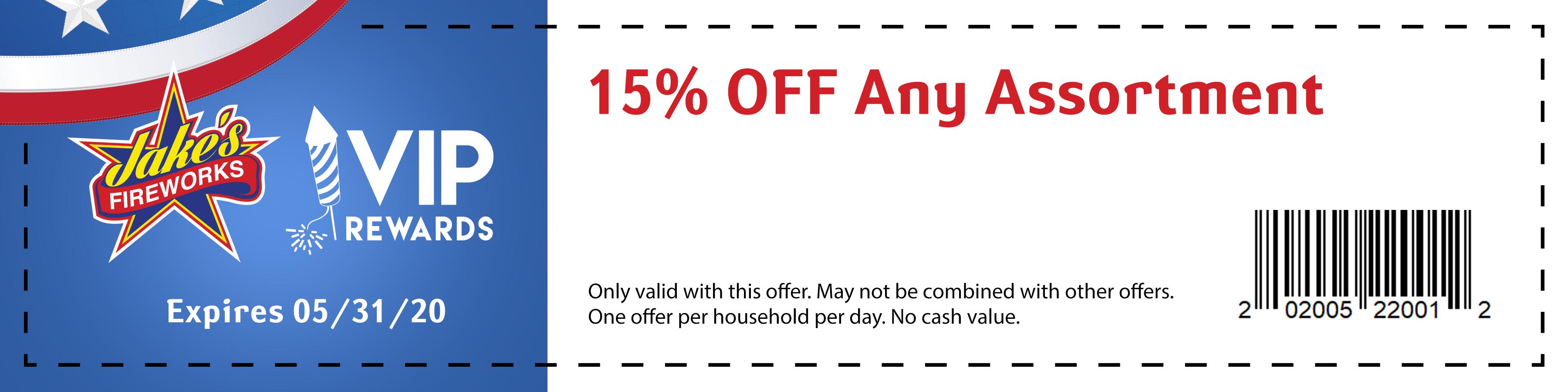 JakesFireworks_coupons2020_15%offanyassortment