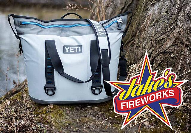 Jake's Fireworks Giveaway - Yeti Hopper Cooler