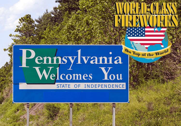 wholesale fireworks Pennsylvania