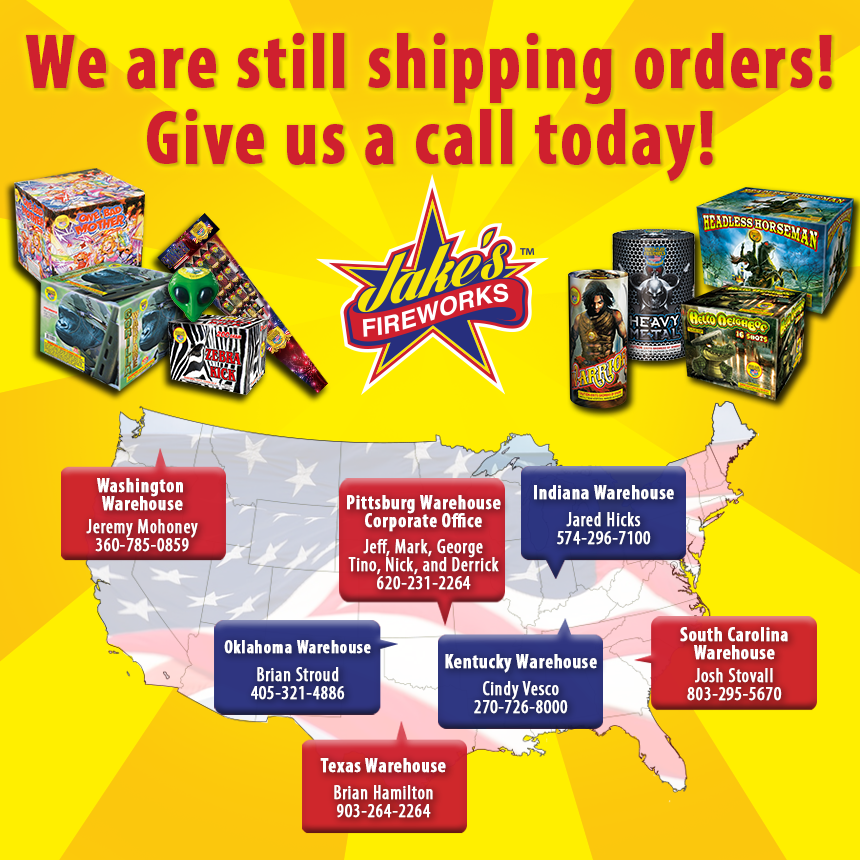 wholesale fireworks warehouse