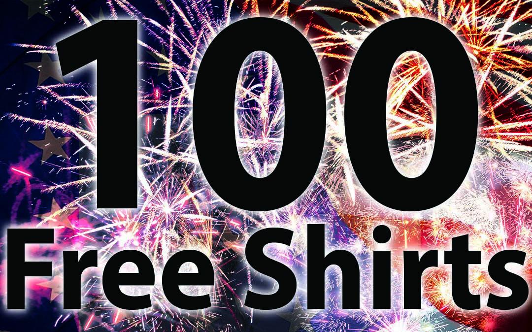 100 T-Shirt Winners Announced