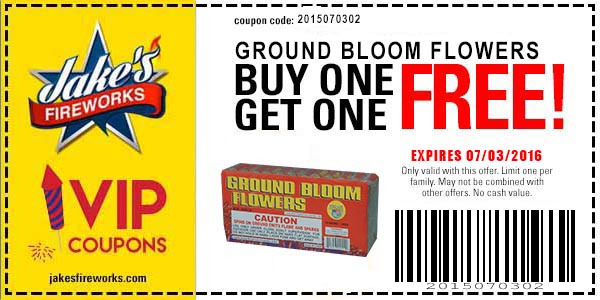 Buy One Get One FREE Firework Coupons Continue