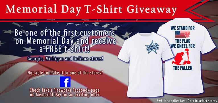 Memorial Day T-Shirt Giveaway