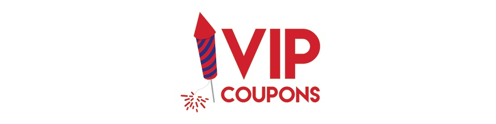 VIP Firework Coupons - BOGO 200g Cakes and Roman Candle 6-Pack Only $0.99