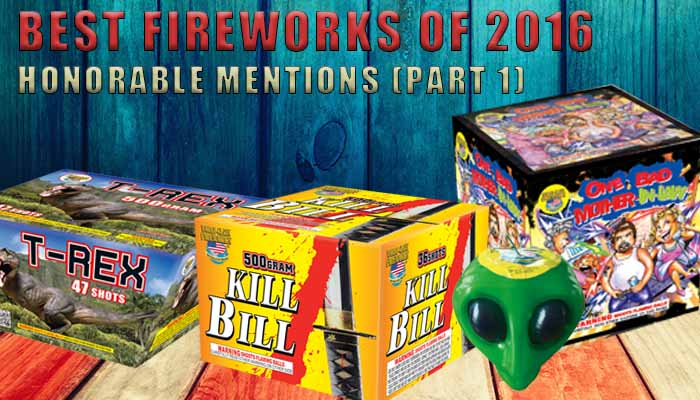 Honorable Mentions - Best Fireworks of 2016 (Part 1)