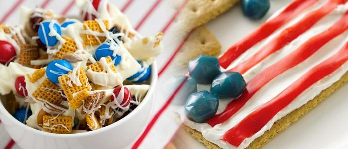 Quick Fourth of July Snacks