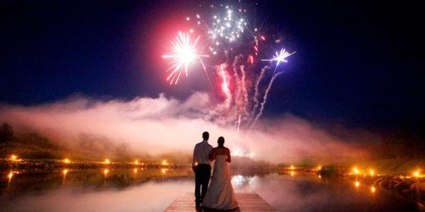 Light Up Your July Wedding With Fireworks