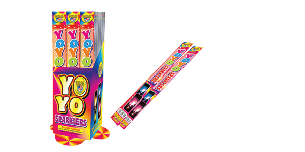 Product Recall Alert - YoYo Sparklers