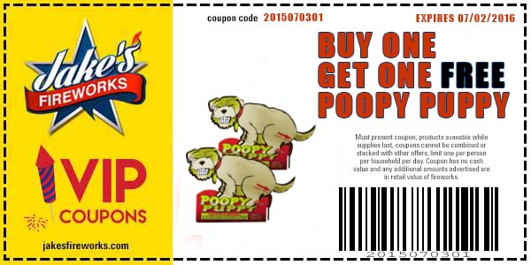 300 Shot Saturn Missile Battery Only $8.99 and Buy One Get One Poopy Puppy