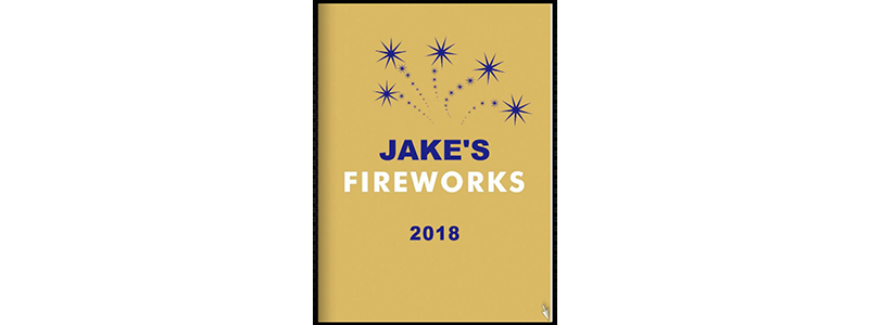 2018 Jake's Fireworks Catalog Is Here!!!!
