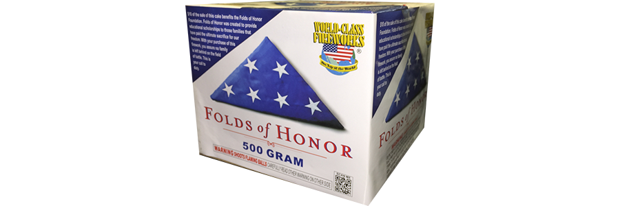 Pick Up The Folds Of Honor Firework To Support Military Families