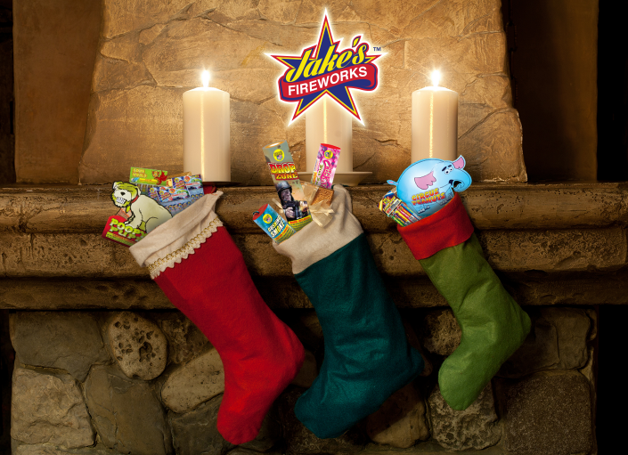 Spread Christmas Cheer With Jake's Fireworks!