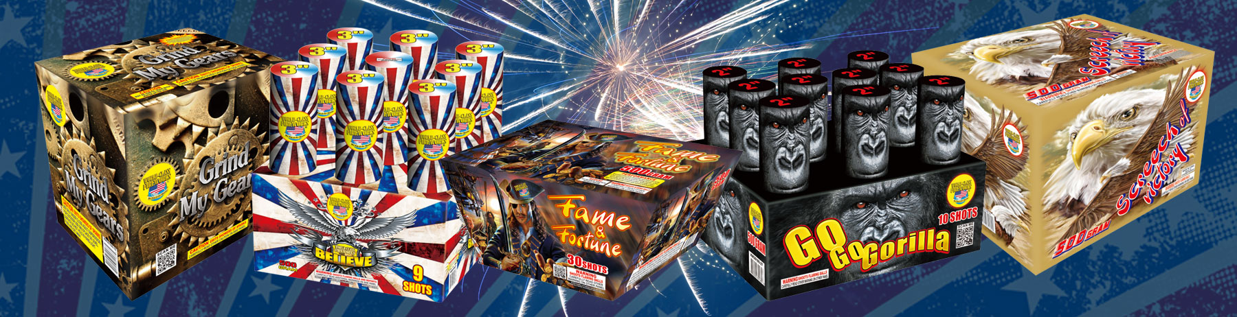 New Fireworks For 2016