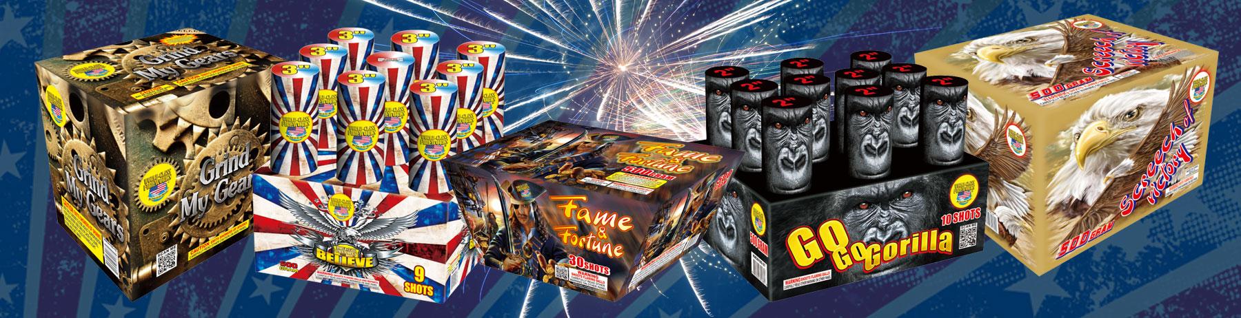 New Fireworks For 2016