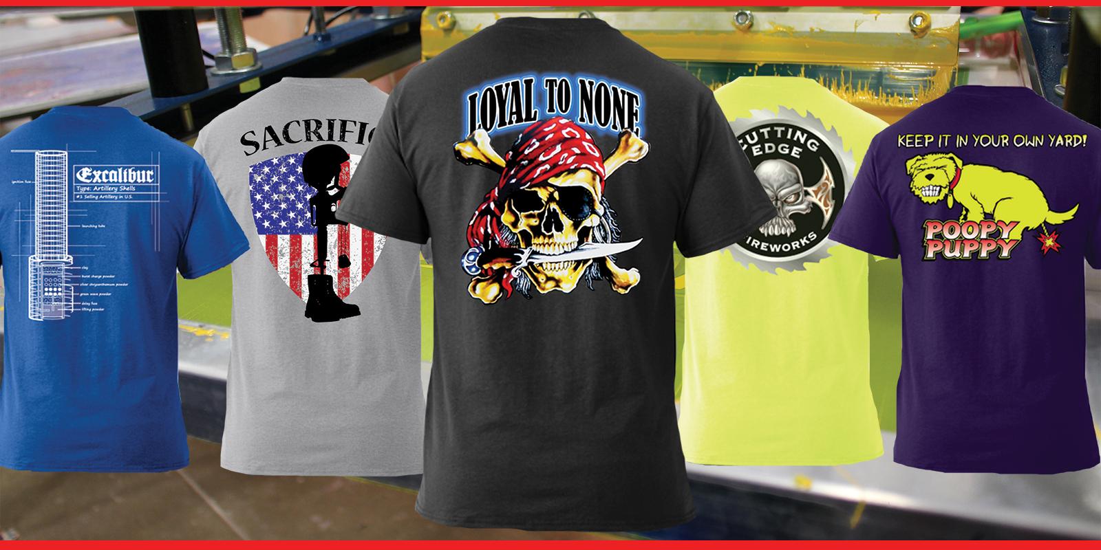 40% Off Patriotic & Firework T-Shirts