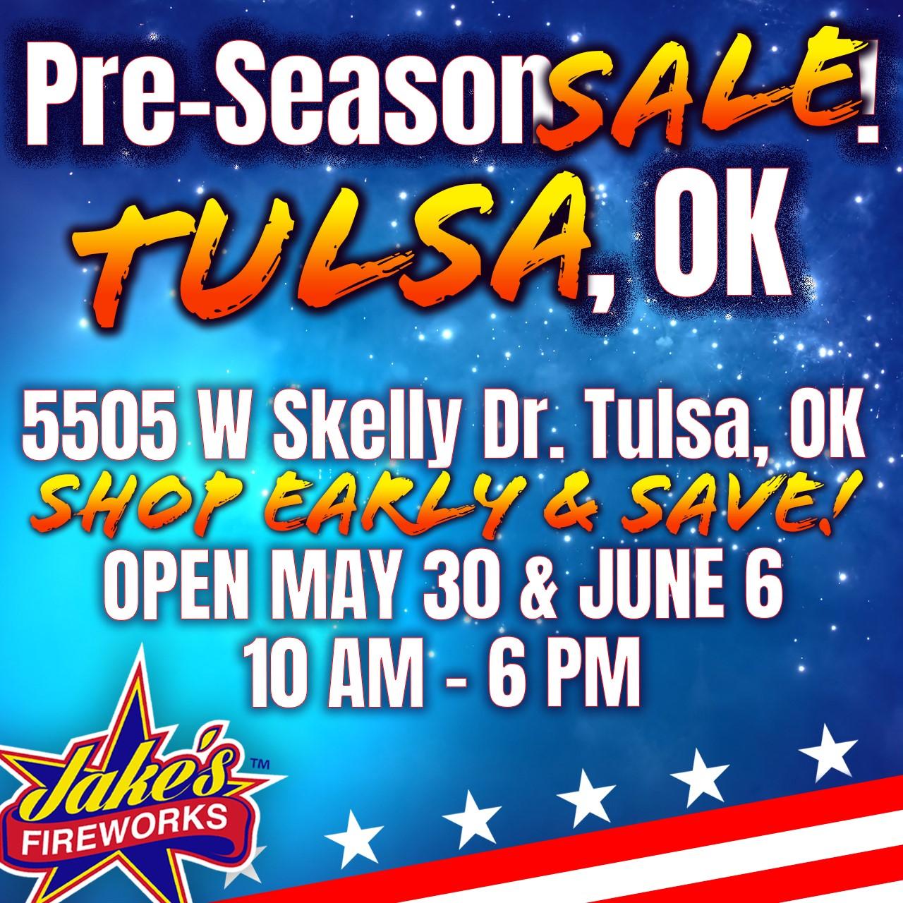 Pre Season Sale - Tulsa, OK Store